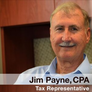 Tax Representative Jim Payne, CPA, Gainesville, Florida